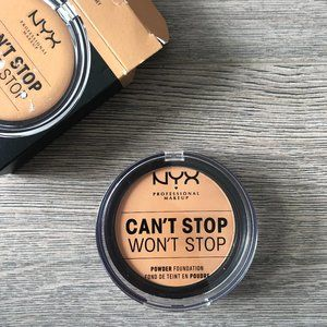 NYX Can't Stop Won't Stop Powder Foundation